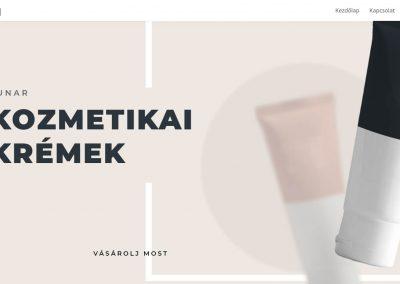 Kozmetikai honlap
